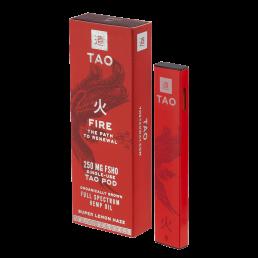 The Tao Way - Single Use Boxed Fire Pod