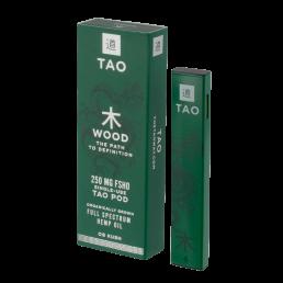The Tao Way - Single Use Boxed Wood Pod