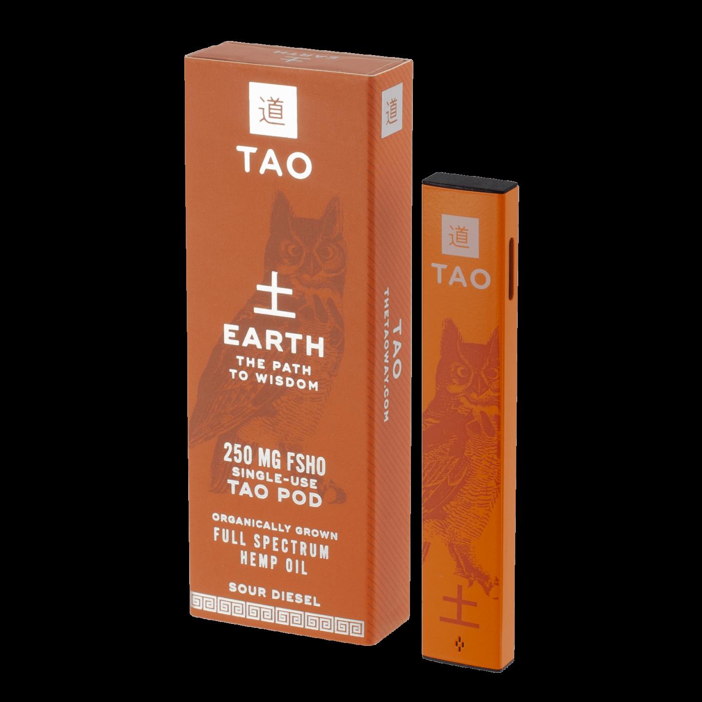The Tao Way - Single Use Boxed Earth Pod