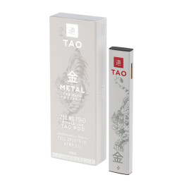 The Tao Way - Single Use Boxed Metal Pod