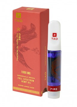 TAO Fire CBD oil Super Lemon Haze 1000mg