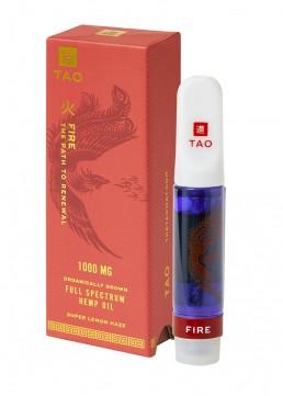 TAO Fire CBD oil Super Lemon Haze 1000mg