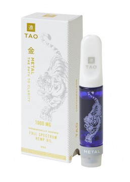 TAO Metal CBD oil GSC 1000mg