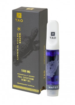 TAO Water CBD oil Granddaddy Purple 1000mg