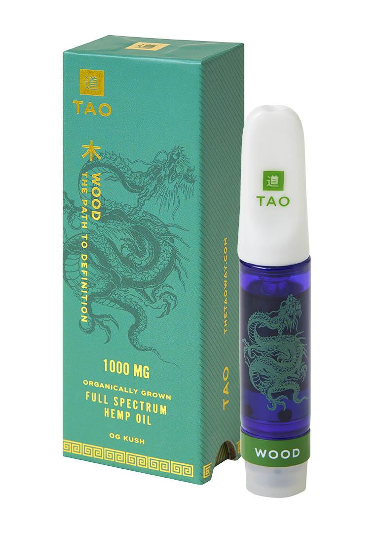 TAO Wood CBD oil OG Kush 1000mg